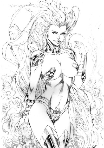 Super Hero Sketches 4